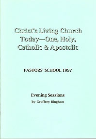 Christ's Living Church Today