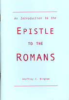 Introduction to the Epistle to the Romans